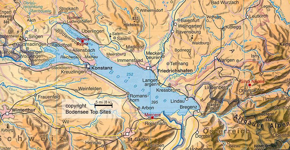 Domus Cygna Maps